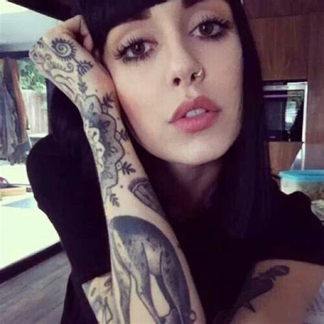 hannah snowdon tattoos pixie snowdon human beings