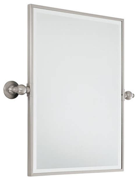 pivoting bathroom mirror minka lavery 1440 84 standard rectangle pivoting bathroom