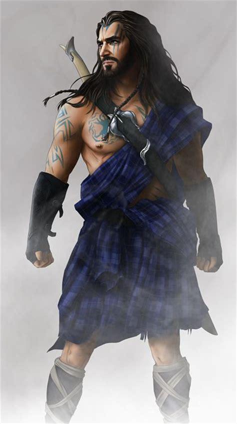 scottish warrior celtic warrior art fan art pinterest tartan kilt