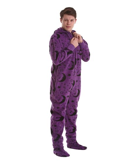 anzug pyjama wizard footed pajama suit it s magical funzee
