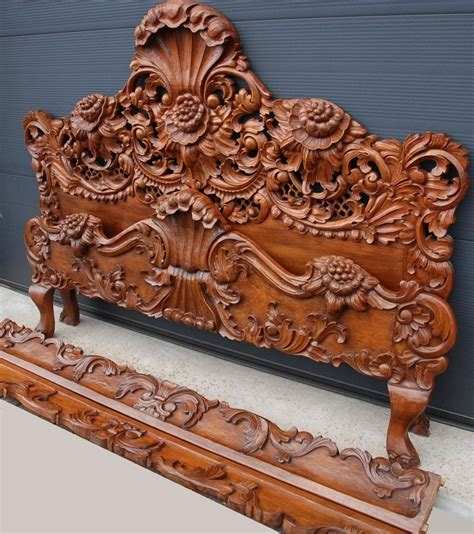 wood carving bed 17 best images about bed on pinterest baroque victorian