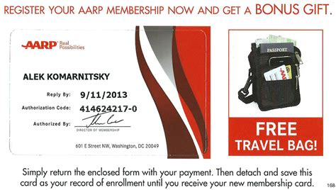 aarp card template aarp free gift with membership gift ftempo
