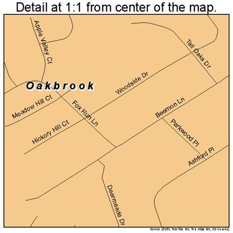 oakbrook mall map oakbrook kentucky map 2157030