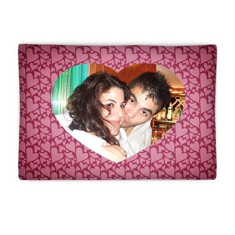 federe cuscini personalizzate federe cuscini sta la tua foto dentro ad un cuore