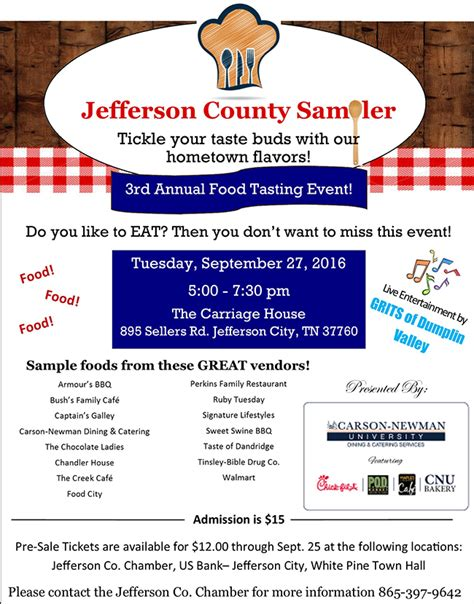 Jefferson County Detox by Jchs Class Of 2016 Presents The Family Inaugural