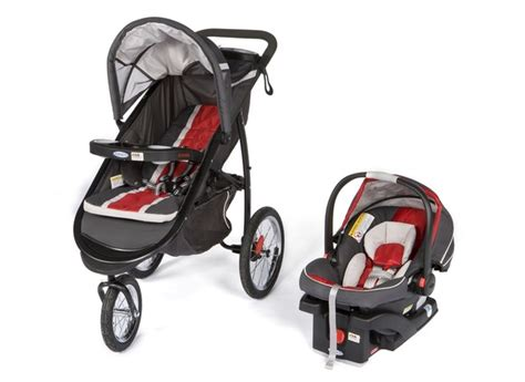 How To Recline Graco Stroller by Graco Fastaction Fold Jogger Click Connect Travel System