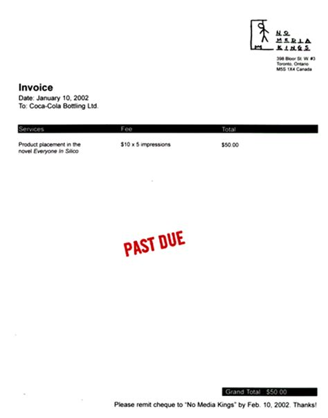 past due invoice template past due invoice letter template resume builder