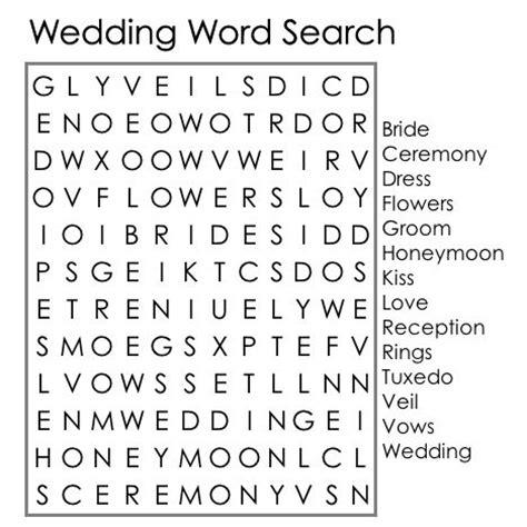printable wedding word search games llaurra s wedding word search tic tac toe programs