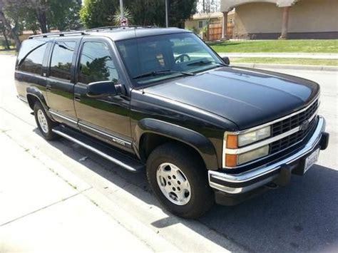 how to sell used cars 1993 chevrolet suburban 2500 on board diagnostic system find used 1993 chevrolet suburban 1500 4x4 w v8 in rancho cucamonga california united states