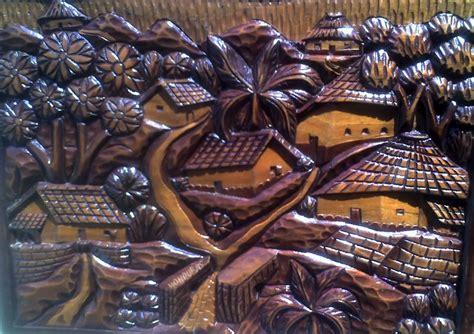 imagenes de paisajes tallados en madera galeria de arte
