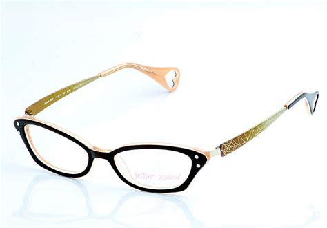 betsey johnson ombre web bj0114 eyeglasses espresso
