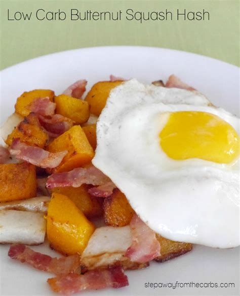 carbohydrates butternut squash low carb butternut squash hash step away from the carbs
