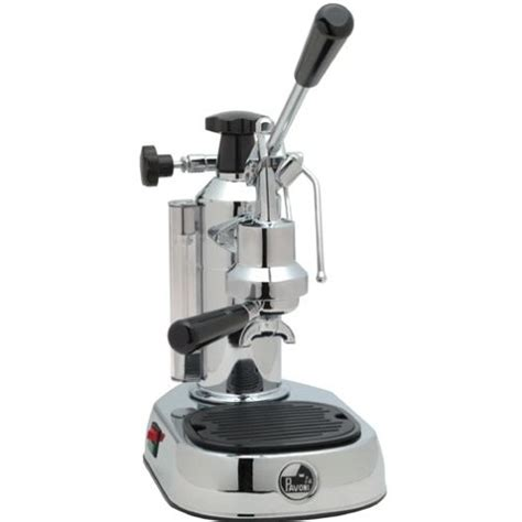 La Pavoni la pavoni europiccola chrome base piston operated