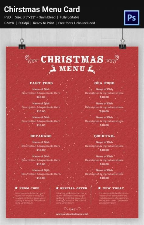 publisher menu templates free free printable restaurant menu templates shatterlion info
