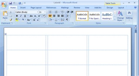 how to set up label template in word how to create mailing labels in word