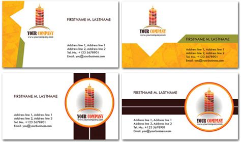 construction business cards templates psd construction business cards psd models