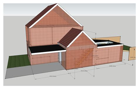 schuur uitbouwen zonder vergunning uitbouw bestaand hoekhuis met quot serre quot en garage schuur