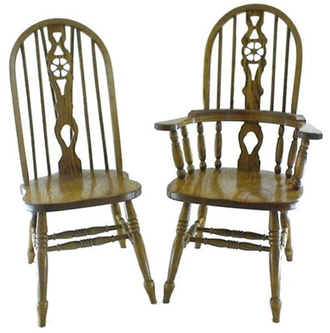 Dining Chairs With Wheels Amish Wheel Fiddleback Dining Room Chair Amish Family Wheels And Chairs