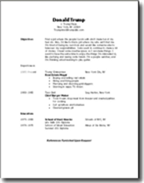 make your own resume how to make an easy resume in microsoft word