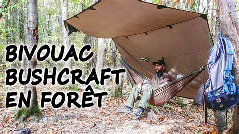 Hamac Bushcraft by Bivouac Bushcraft En For 234 T Et En Hamac