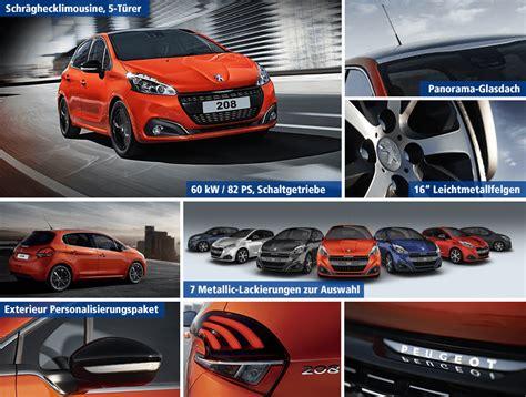 Auto Leasen Ohne Anzahlung Peugeot by 1 1 Tarif Sensation Peugeot 208 Leasing F 252 R 99 Plus