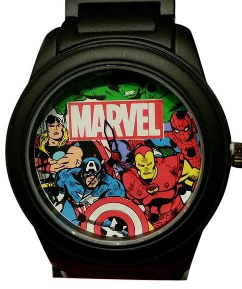 accutime corporation black marvel avengers thor