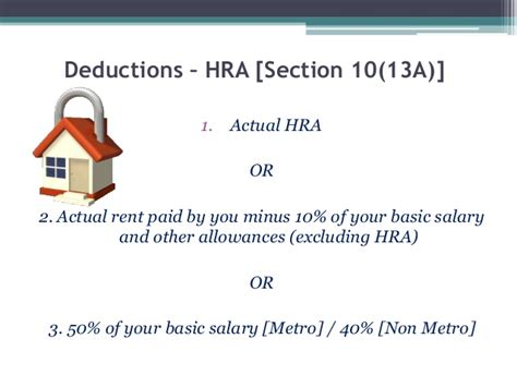 section 2 hra calculation taxable income
