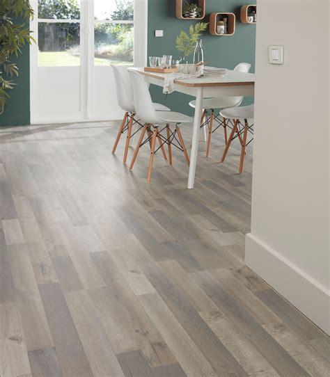 Addington Grey Oak effect Laminate flooring 1.996 m² Pack