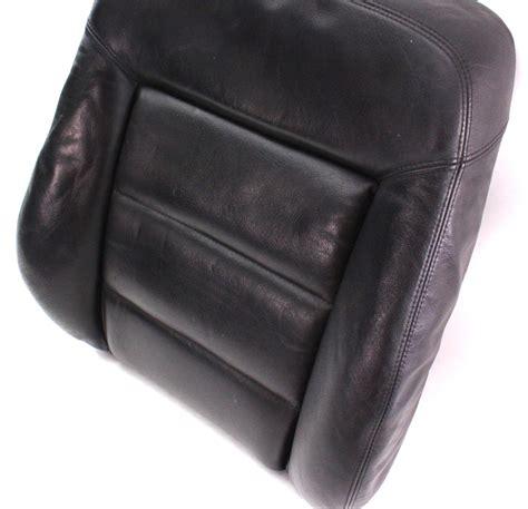 Heated Leather rh front seat back rest foam cover 98 05 vw passat b5