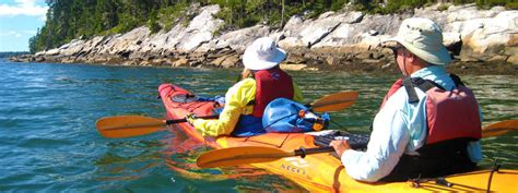 boating weather near me maine kayak tours rentals maine vacations