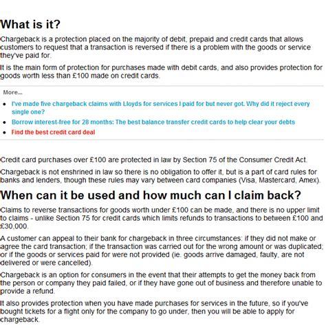 section 75 chargeback tara talks get your money back chargeback information