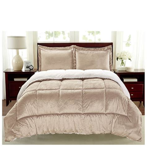 sherpa faux suede comforter set gallery