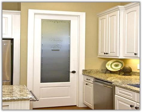 pantry doors  glass inserts home design ideas