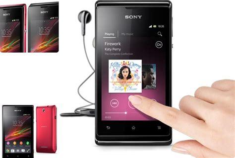 Hp Android Sony hp android termurah merk sony panduan membeli