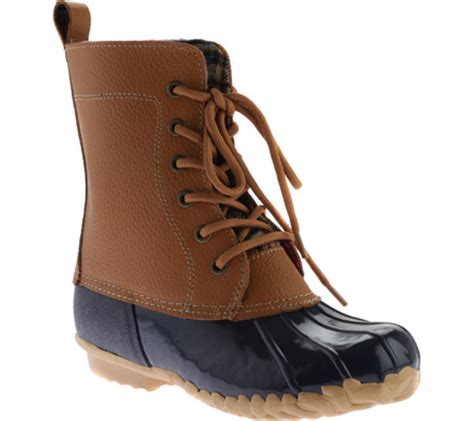 sporto boots reviews womens sporto dede lace up waterproof duck boot free