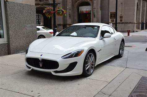 maserati white 2017 2017 maserati granturismo sport used bentley used