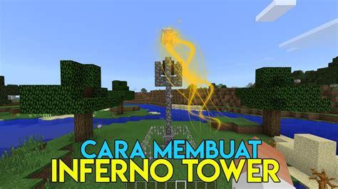 cara membuat hidroponik tower tutorial cara membuat inferno tower di minecraft
