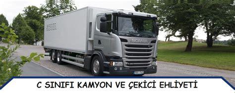 kamyon ehliyeti