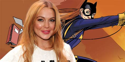 Lindsay Lohan Reads Something Familiar by Lindsay Lohan Wants To Play Batgirl In Dceu Screen Rant