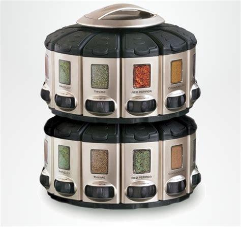 Auto Measure Spice Rack by Auto Measure Spice Carousel