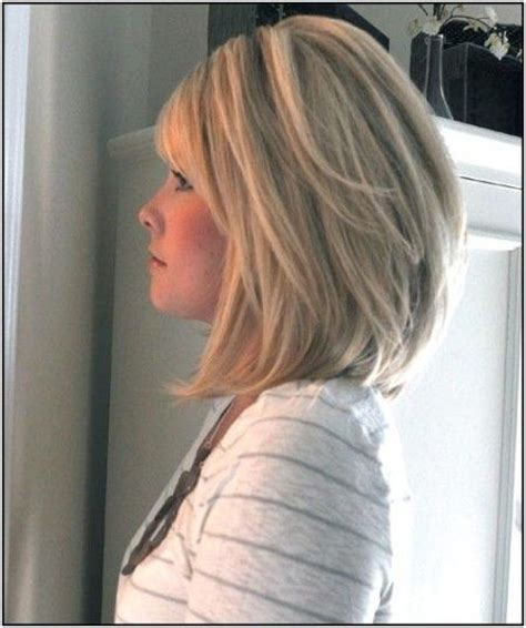 medium length swing hair cut best 25 stacked bob long ideas on pinterest longer