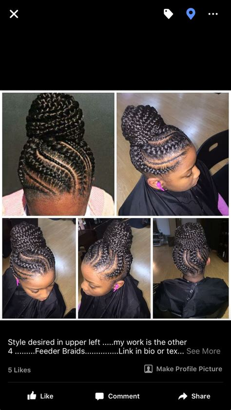 feeder braids feeder braids hair care styles for my sistas