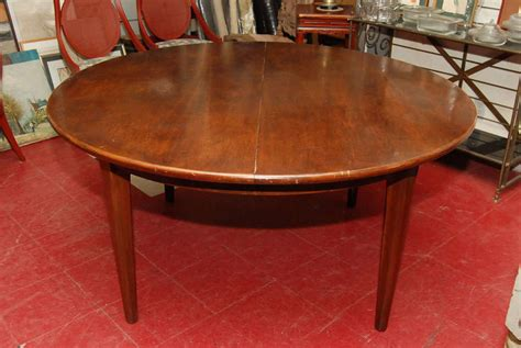 pecan wood furniture dining room pecan wood dining table leaves at 1stdibs