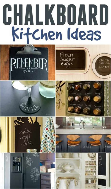 Kitchen Chalkboard Ideas Chalkboard Ideas In The Kitchen