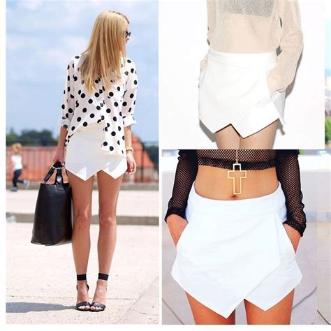 Summer S M Top Skort 31334 skorts asymmetric tiered culottes shorts with invisible zipper o ebay
