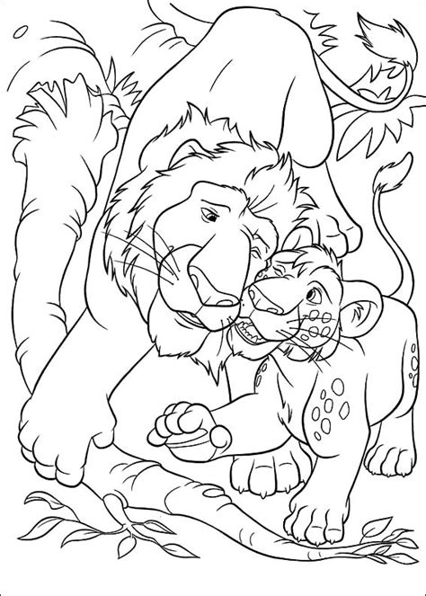 coloring page the wild coloring pages 8