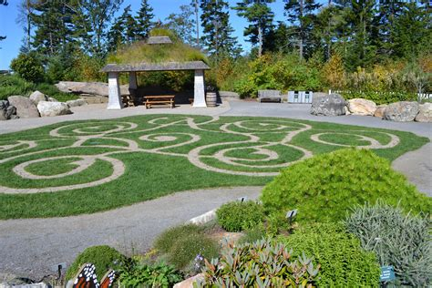 Coastal Maine Botanical Gardens Hidden Hills Garden Maine Coastal Botanical Gardens
