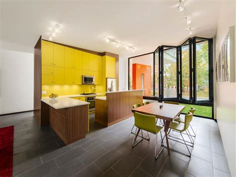 bright yellow kitchen cabinets diy painting kitchen cabinets ideas pictures from hgtv