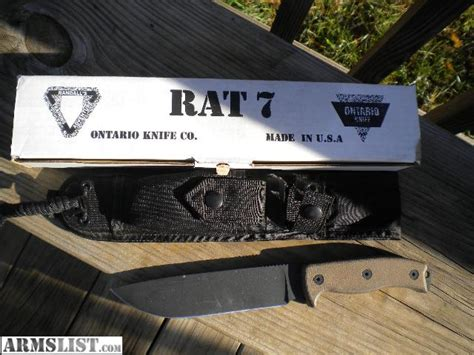 ontario rat 7 for sale armslist for sale ontario knives rat 7