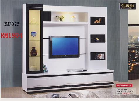 modern living room lcd cabinet design ipc220 tv wall unit